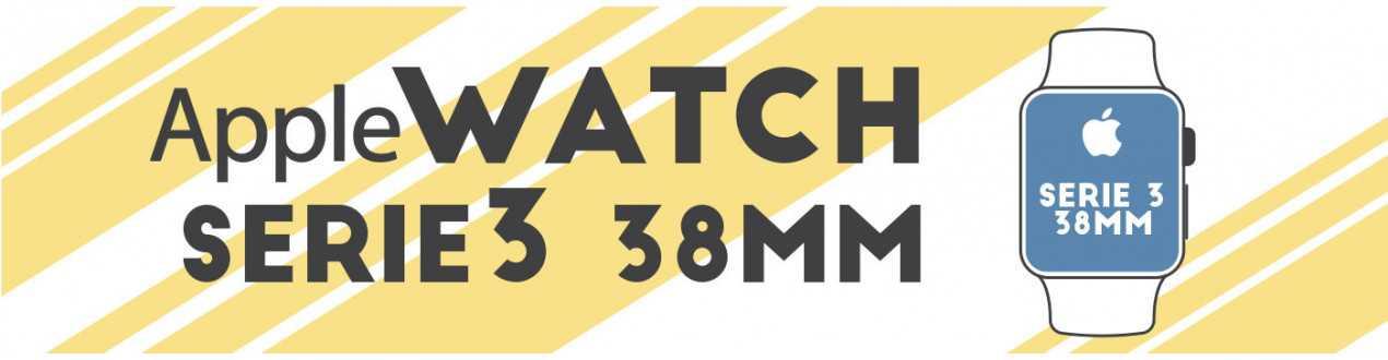 Watch Serie 3 - 38mm